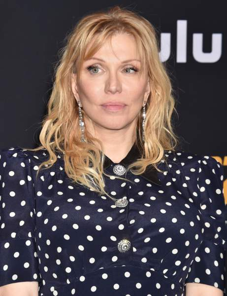 Courtney Love's long degraded square