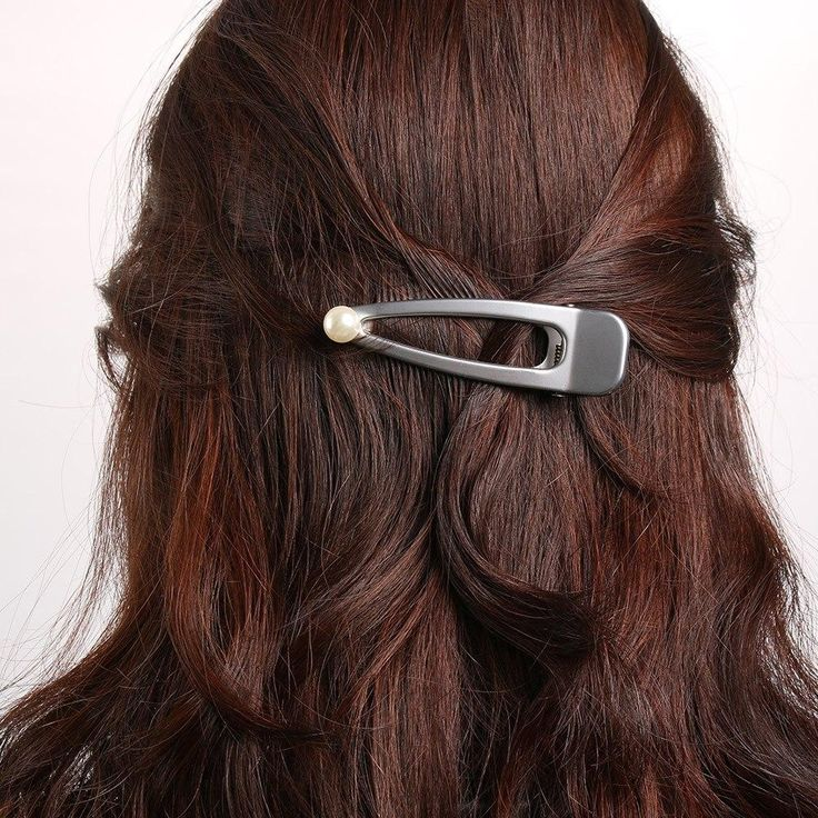 Hairstyles with barrettes