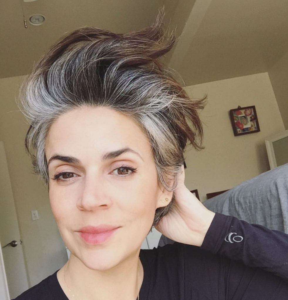 beautiful gray hair hairstyles