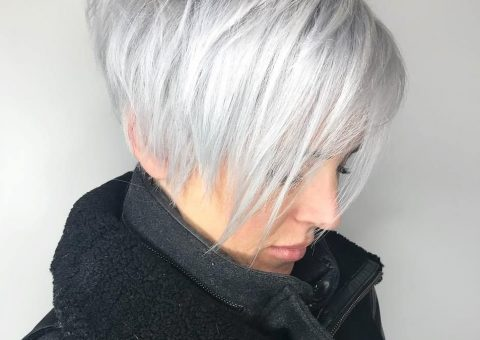 haircut ideas for white hair